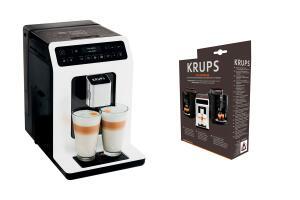 Machine à expresso automatique Krups Evidence EA890110 + Pack d'entretien XS530010