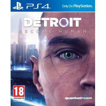 Jeu Detroit Become Human sur PS4