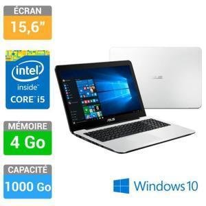 """PC Portable 15.6"""" HD Asus  X554LA-XX959T (i5-5200U, 4 Go Ram, 1 To HDD, Windows 10)"""