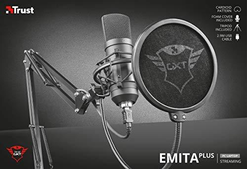 Micro studio USB Trust Gaming GXT 252+ Emita Plus