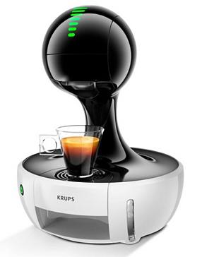 Machine à café à capsules Krups Nescafé Dolce Gusto Drop - Blanc