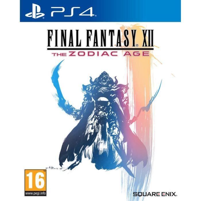 Sélection de jeux Final Fantasy en promotion - Ex : Final Fantasy XII - The Zodiac Age sur PS4 (Vendeur tiers)