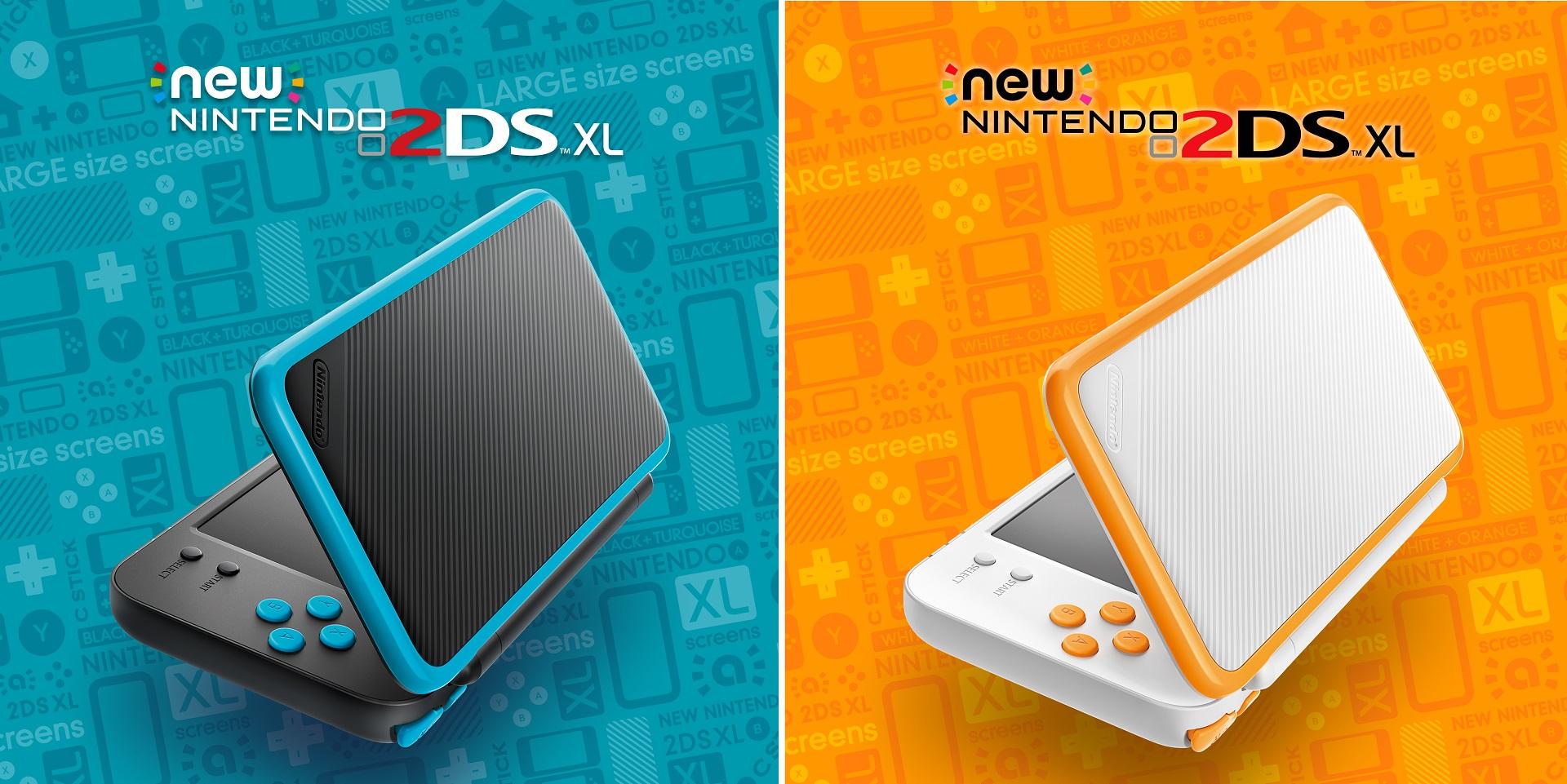 Console portable Nintendo New 2DS XL - blanc ou noir (via 70€ en ticket e.leclerc ) - Saint-Aunès (34)