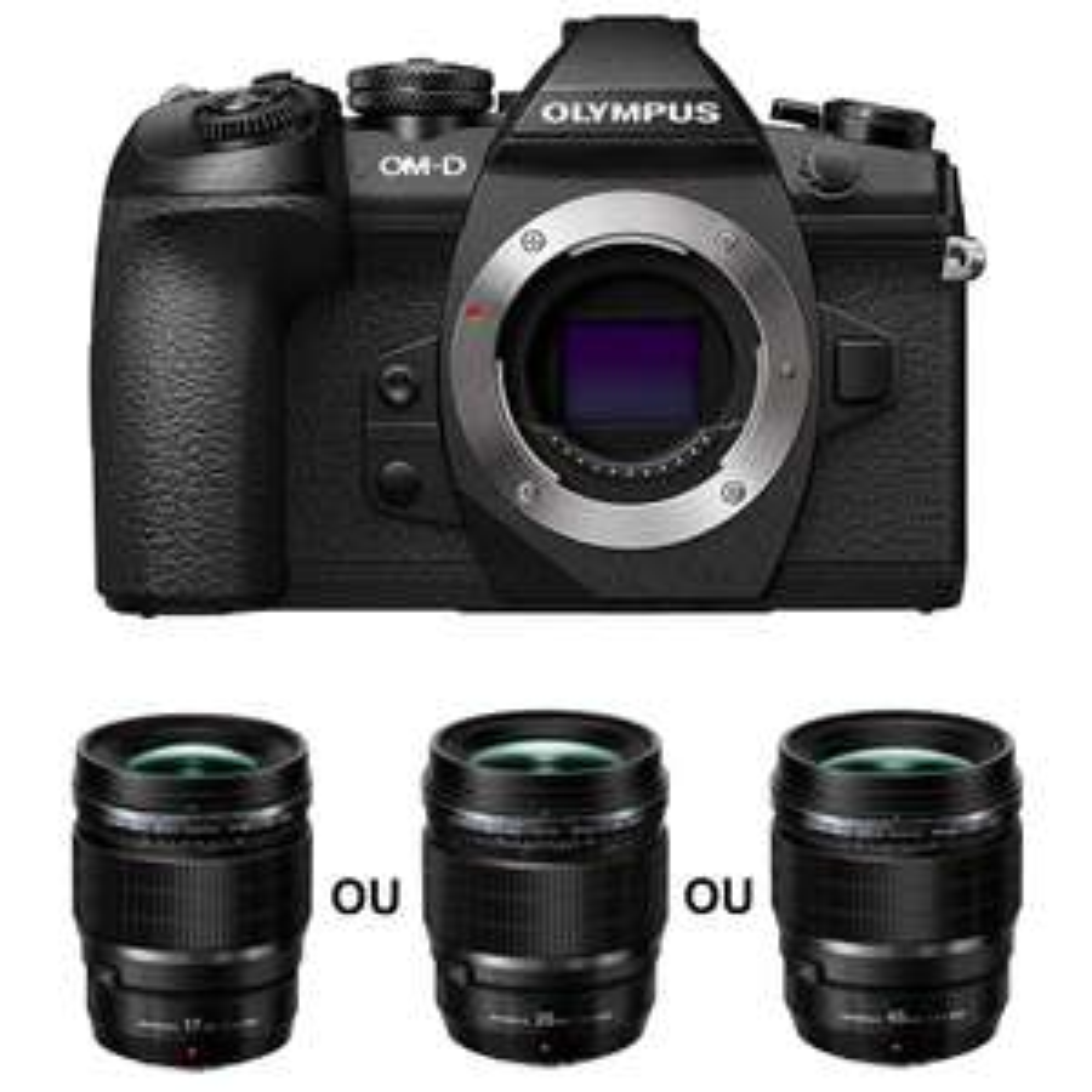 Appareil Photo Hybride Olympus OM-D E-M1 Mark II + Objectif M.Zuiko Digital ED f/1.2 Pro (17, 25 ou 45 mm) offert via formulaire
