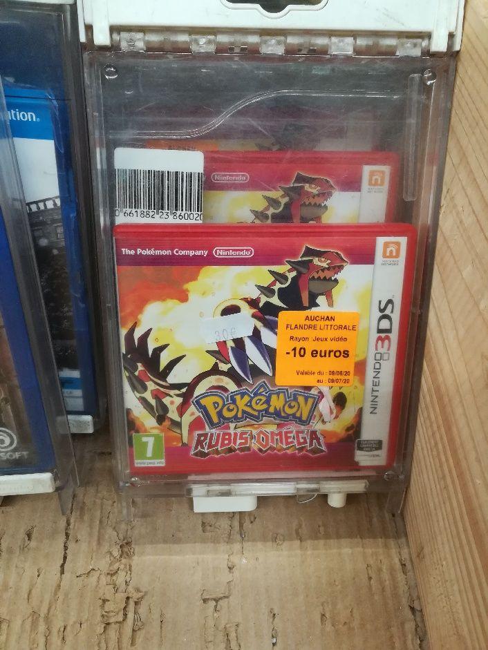 Jeu Pokémon Ruby Omega sur Nintendo 3DS - Auchan Grande Synthe (59)