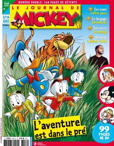 20€ de réduction dès 40€ sur vos abonnements - Ex: Abonnement de 7 mois au Journal de Mickey