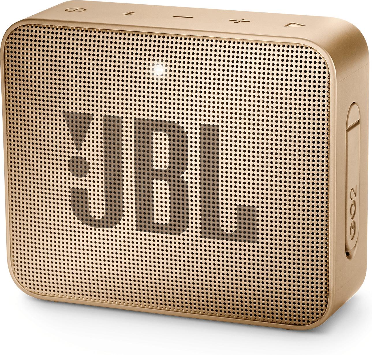 Enceinte Bluetooth JBL Go 2 - champagne (Vendeur tiers, frais de port inclus)