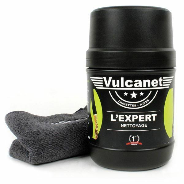 60 lingettes Vulcanet pour vélo