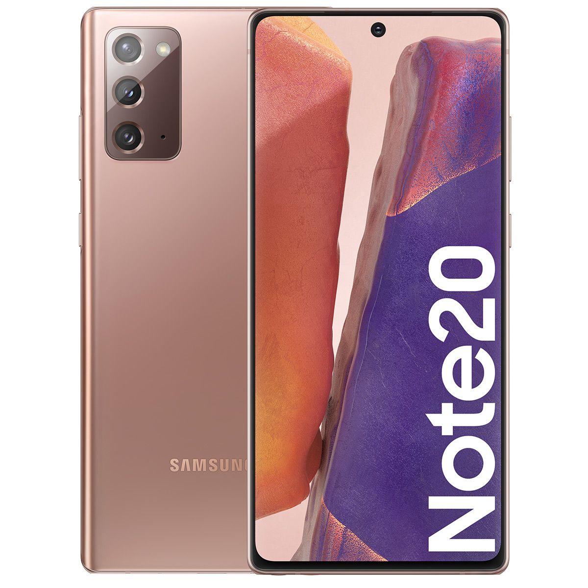 """Smartphone 6.7"""" Samsung Galaxy Note 20 SM-N980 (4G) - Full HD+, Exynos 990, RAM 8 Go, 256 Go (+ Jusqu'à 139.58€ en SuperPoints)"""