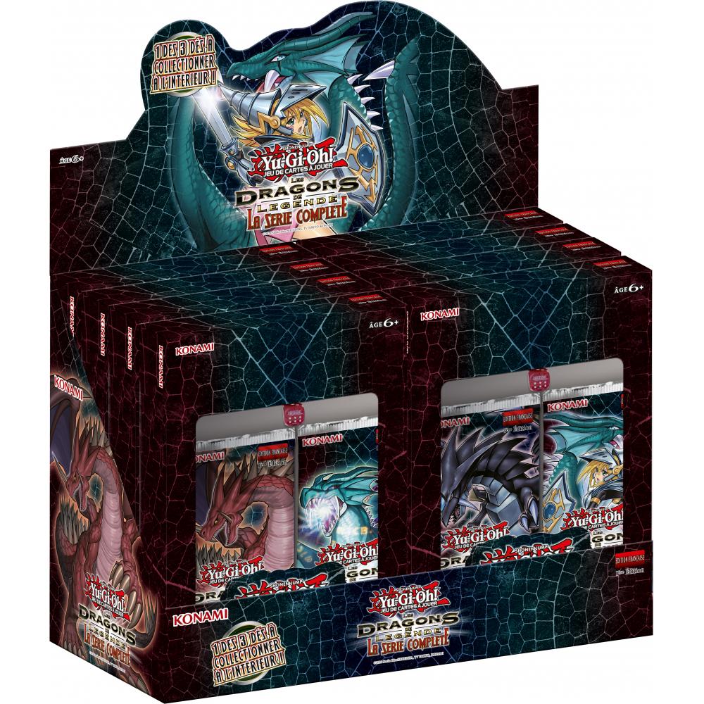 [Précommande] Display de 8 coffrets Yu-Gi-Oh! - Les Dragons de Légende (ultrajeux.com)