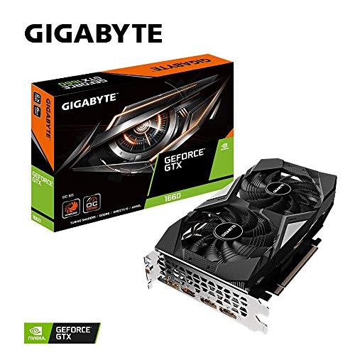Carte graphique Gigabyte GeForce GTX 1660 OC 6GD