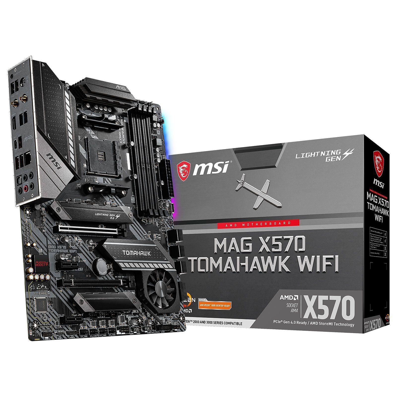 Carte Mère MSI MAG X570 Tomahawk - WiFi