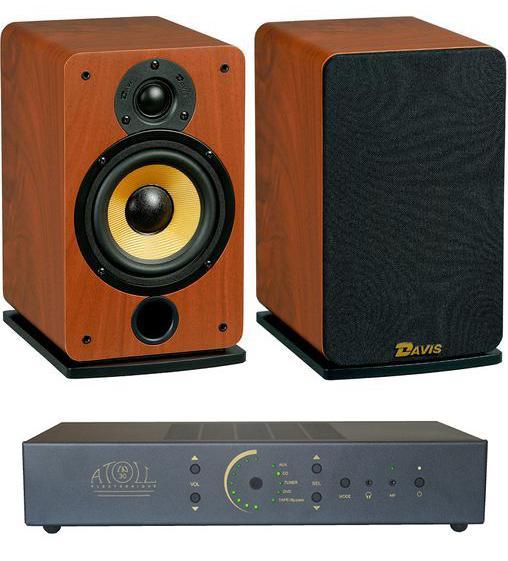 Ampli Hi-Fi Atoll Electronique IN30 Noir anthracite 2x50W + Paire d'enceintes Davis Acoustics Eva Noyer