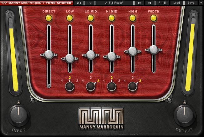 Plugin audio Waves Manny Marroquin Tone Shaper Gratuit (Dématérialisé)