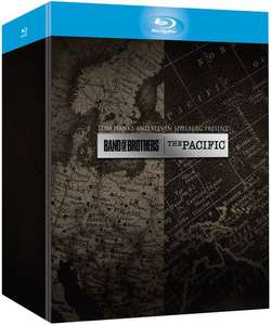 Coffret Band Of Brothers / The Pacific (12 Blu-Ray)