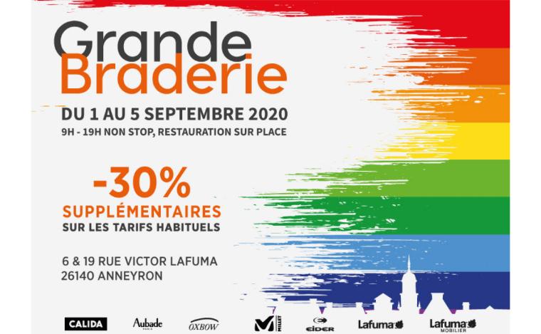 30% de réduction sur tout le magasin d'usine Millet / Lafuma - Anneyron (26)