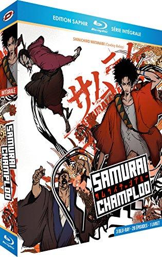 Coffret 3 Blu-ray + Livret Samurai Champloo - L'intégrale Edition Saphir
