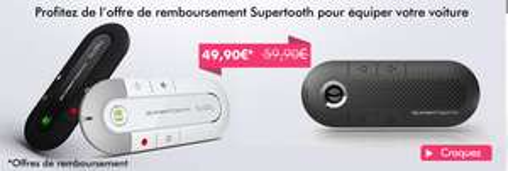 -10€  dès 11€ d'achat sur les accessoires en payant avec Buyster (Casques Colorblock à 2.90€...)