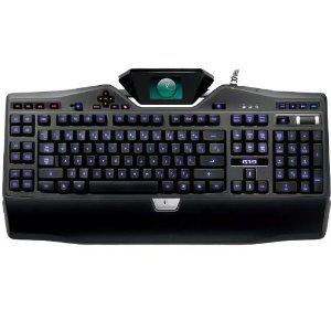 Logitech G19 Keyboard for Gaming Clavier pour jeux Ecran couleur LCD 12 touches programmables Azerty Noir