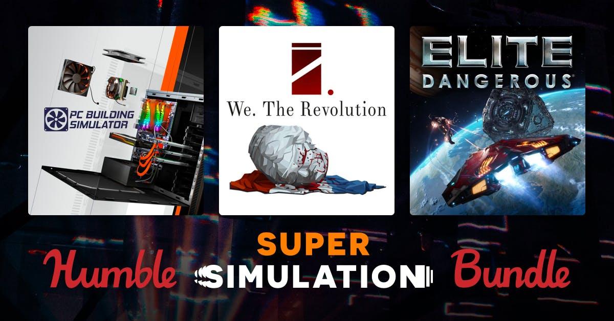 Humble Super Simulation Bundle - 2 Jeux sur PC à partir de 0.84€ (Dématérialisé - Steam)