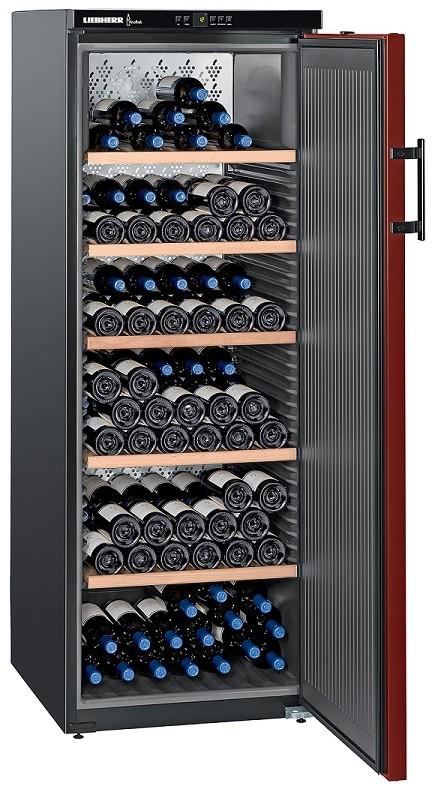 Cave à vin de vieillissementLiebherr WK 201 - 200 bouteilles, A++