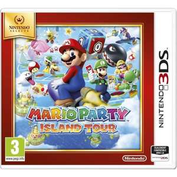 Mario Party Island Tour Nintendo Select sur 3DS