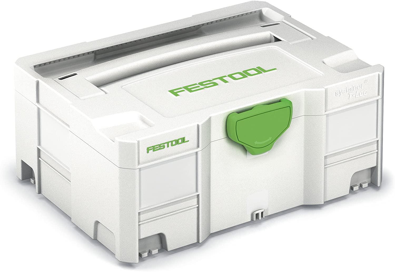 Boite de rangement outils Festool SYS 2 Systainer T-LOC 497564 (Import Allemagne)