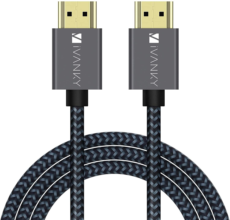 Cable HDMI Ivanky 2.0b (4K60Hz) - 2 Mètres (Vendeur Tiers)