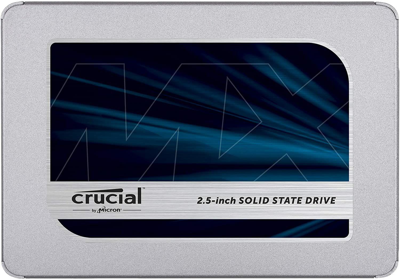 "SSD Interne 2.5"" Crucial MX500 (TLC, DRAM) - 500 Go (Vendeur Tiers)"