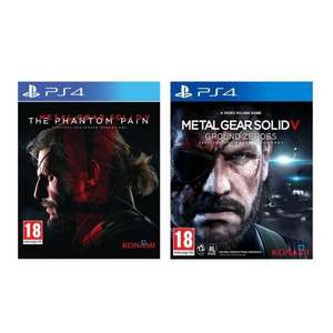 Metal Gear Solid V The Phantom Pain + Ground Zeroes sur PS4