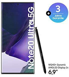 "Smartphone 6.9"" Samsung Galaxy note 20 Ultra 5G - 12 Go de Ram, 256 Go"