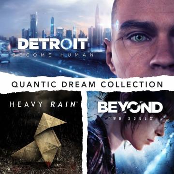 Pack Quantic Dream Collection: Detroit: Become Human + Heavy Rain + Beyond: Two Souls sur PS4 (Dématérialisé, Store US)