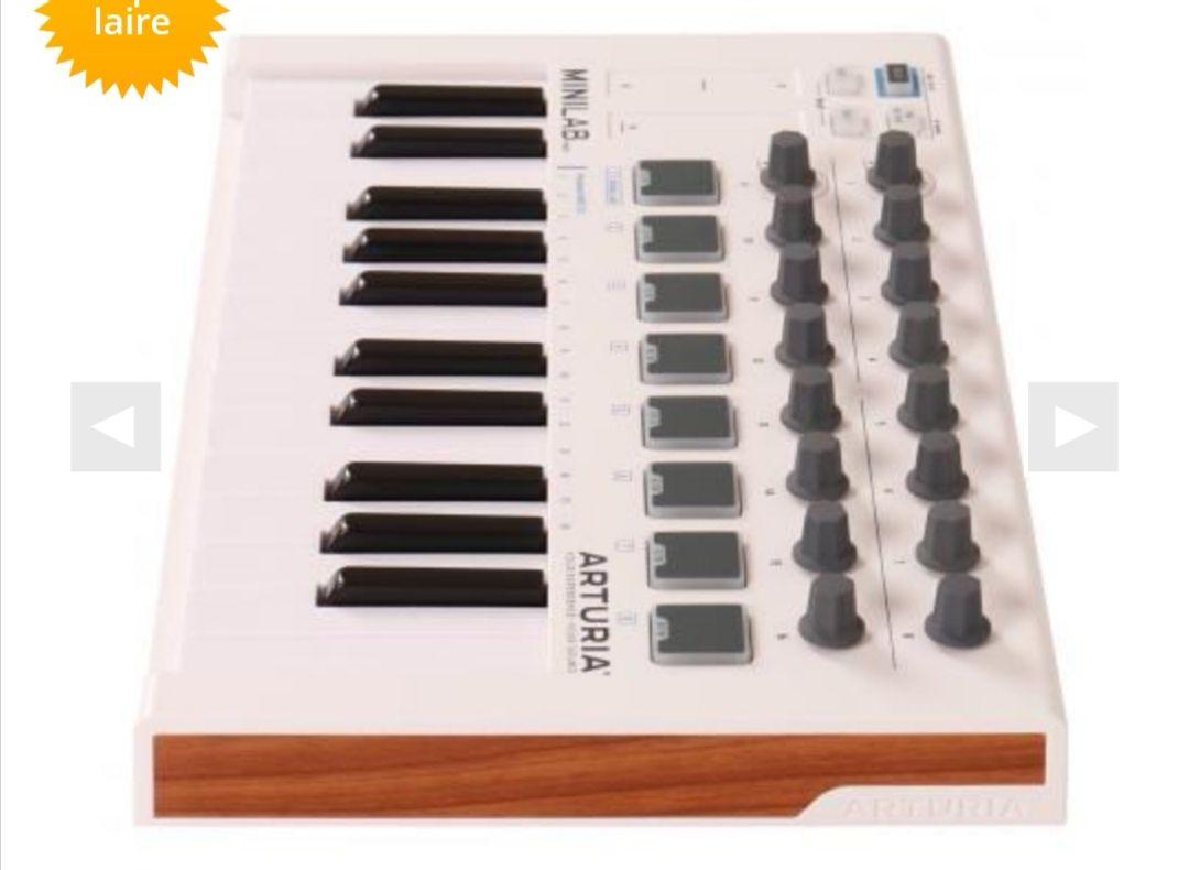 Clavier de contrôle USB/Midi Arturia Minilab Mk2