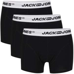 Lot de 3 boxers Jack&Jones noir