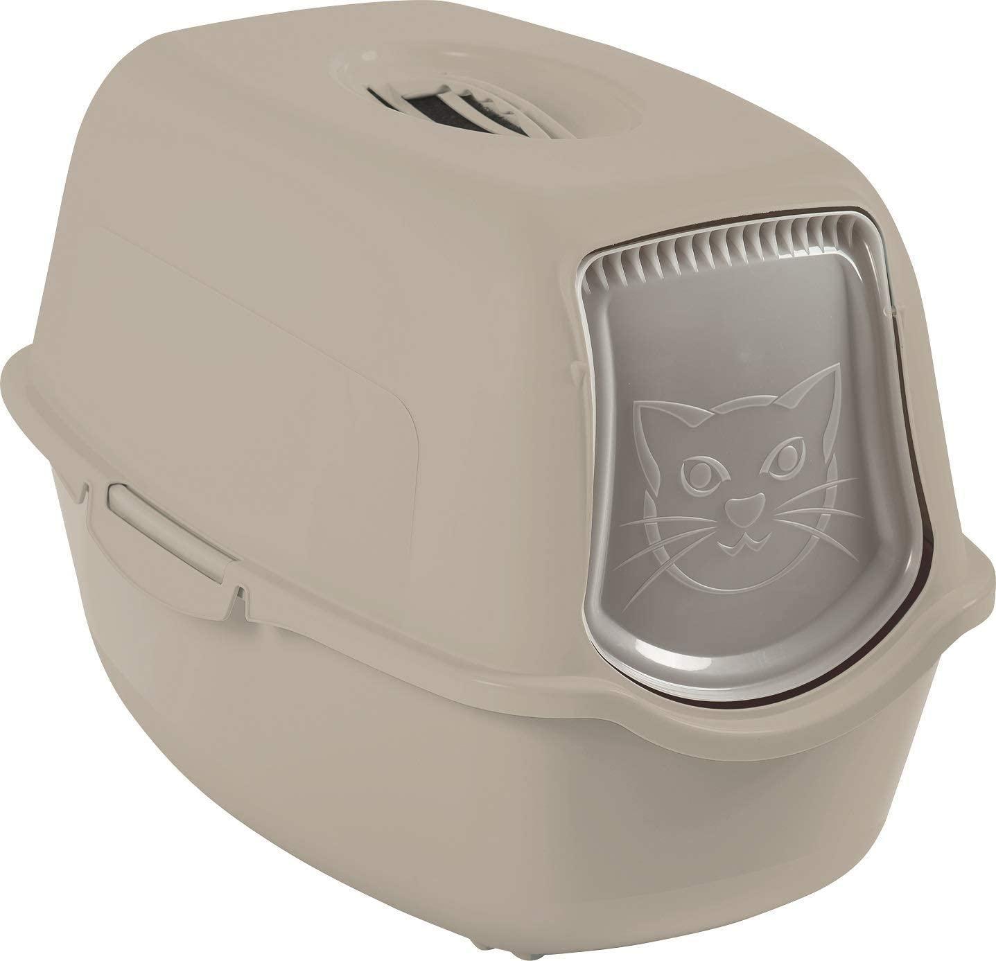 Litière pour chat Rotho Bailey - Plastique sans BPA, 56 x 40 x 39 cm