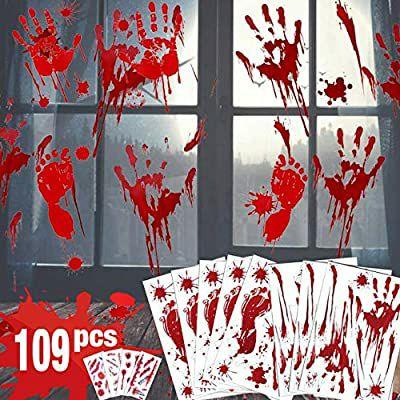 Lot de 109 décorations pour Halloween Hotsan (Vendeur tiers)
