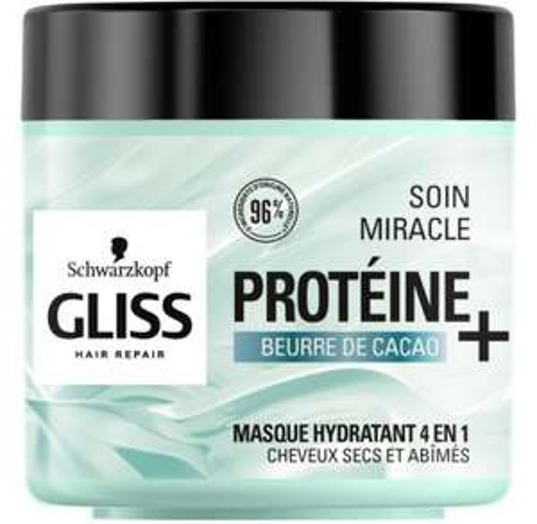 Masque pour cheveux Schwarzkopf Gliss Hair Repair Gratuit (Via 4,19€ en carte fidélité + ODR Shopmium)