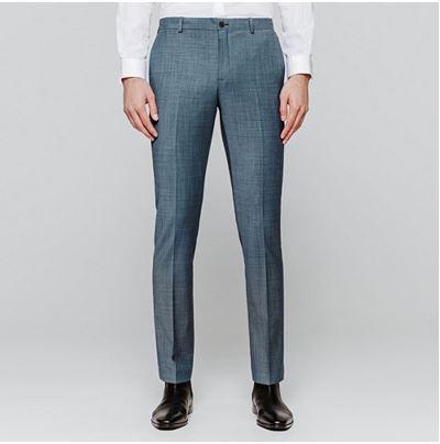 Sélection d'article Jules / Brice en promotion - Ex: Pantalon de costume Homme Brice, Gris Bleuté
