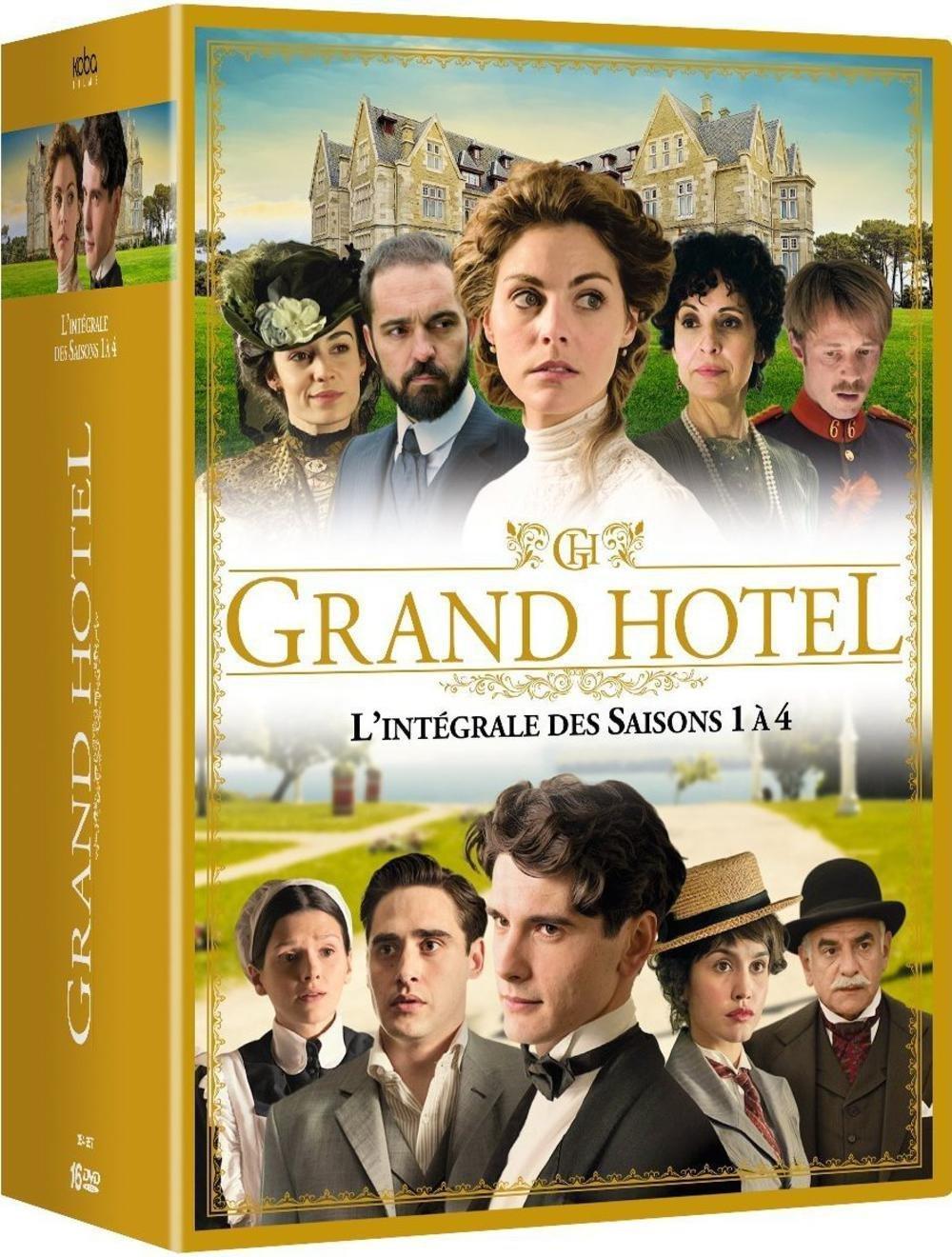 Coffret DVD Intégrale Grand Hôtel - Saisons 1 à 4