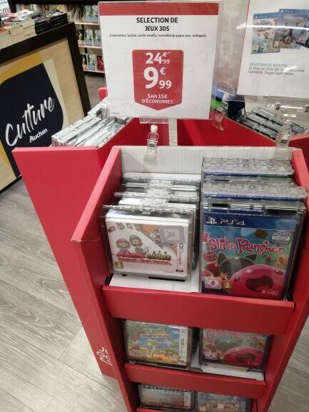 Sélection de jeux Nintendo 3DS à 9,99€ - La Défense (92)