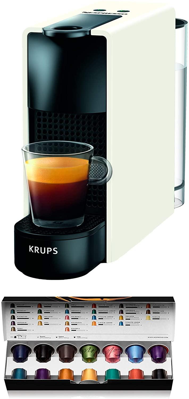 Machine à café Nespresso Krups Essenza Mini (Blanc)