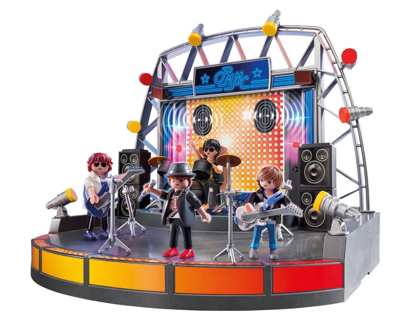 Playmobil 5602 - Set Concert de rock avec haut-parleurs et lumières