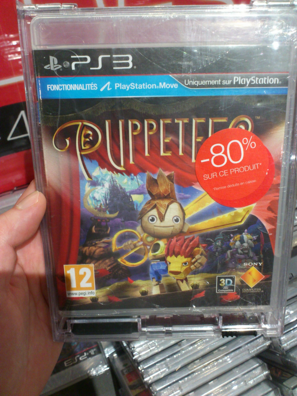 Sélection de jeux PS3 en promo - Ex : Puppeteer  sur PS3