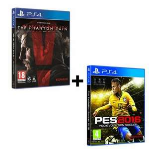 Pack Metal Gear Solid V The Phantom Pain PS4 + PES 2016 sur PS4