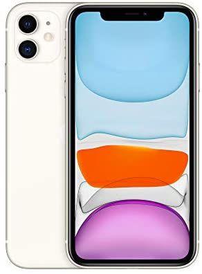 "Smartphone 6.1"" Apple iPhone 11 - HD Retina, A13, 4 Go de RAM, 64 Go, Blanc"
