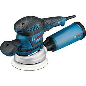 Ponceuse excentrique filaire Bosch Pro GEX 125-150 AVE - 400W + Coffret L-Boxx + Accessoires