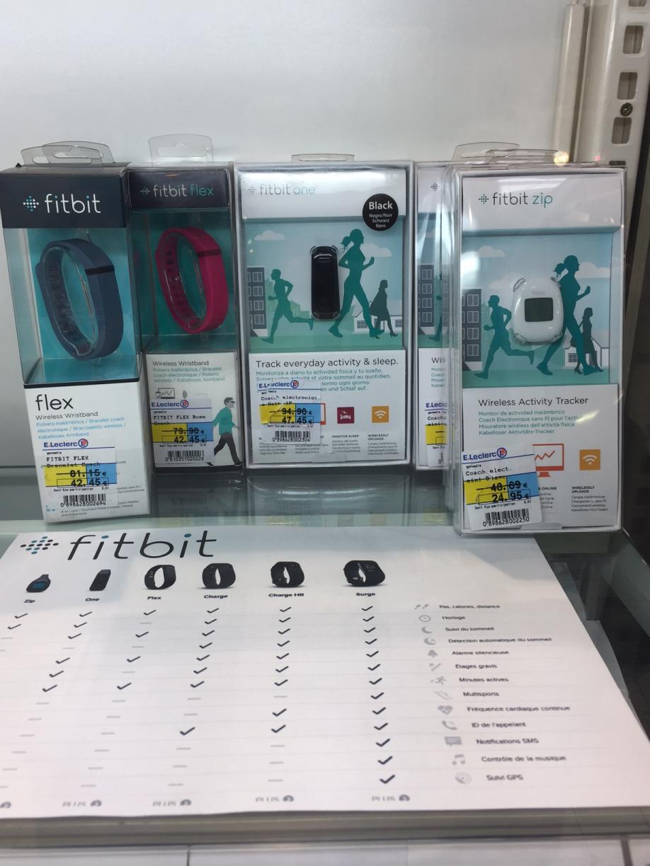 Sélection d'articles Fitbit en promo - Ex : Fitbit  Zip
