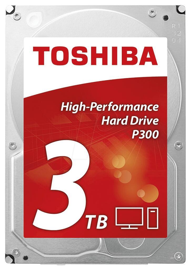 "Disque dur interne 3.5"" Toshiba P300 (HDWD130UZSVA) - 3 To"