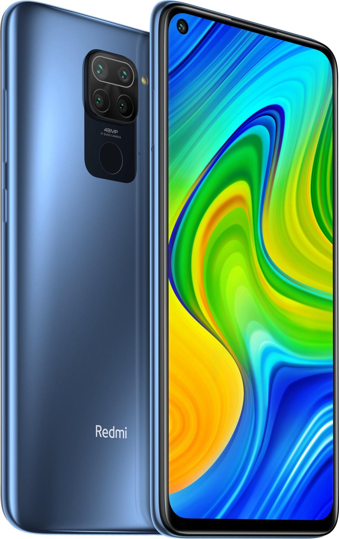 "Smartphone 6.53"" Xiaomi Redmi Note 9 - full HD+, Helio G85, 3 Go de RAM, 64 Go, gris (vendeur tiers)"