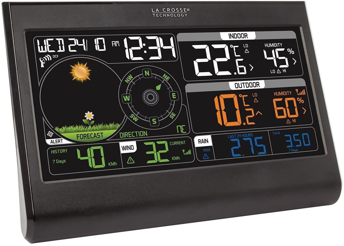 Station météo colorée semi-pro La Crosse Technology WS6868 - Noir (vendeur tiers)